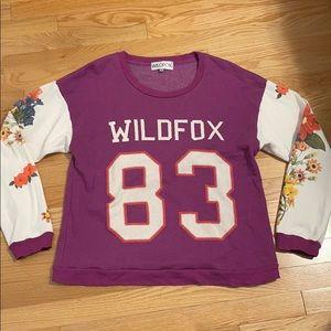 Wildfox varsity sweatshirt!